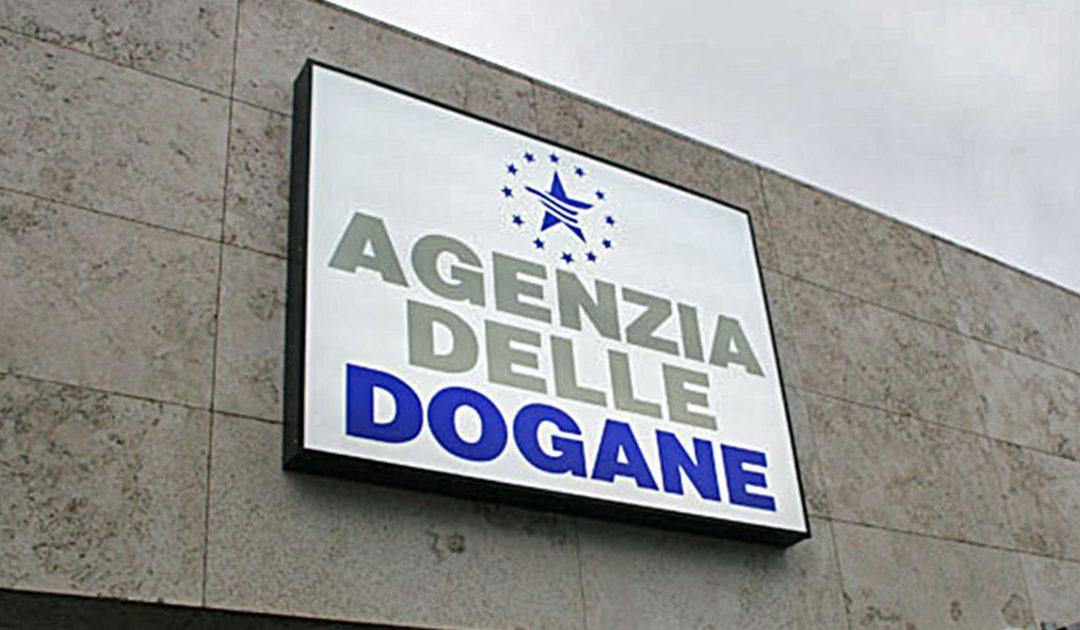 Agenzia delle Dogane, nelle casse dell'Erario arrivati oltre 75 miliardi