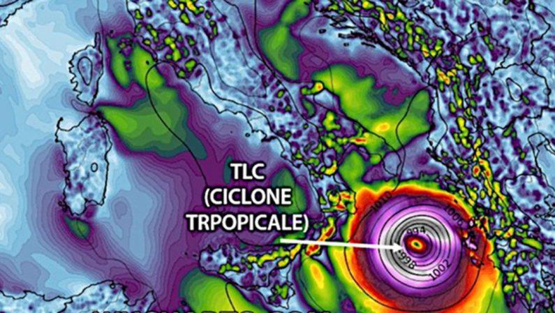 Maltempo, in arrivo un ciclone simil tropicale. Nel Reggino allerta arancione della Protezione civile