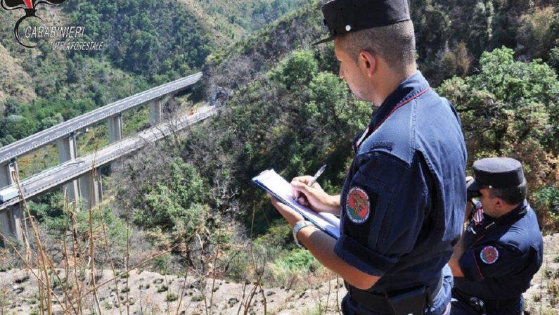 Incendio causato dai lavori sull'autostrada, denunciato l'amministratore della ditta e un suo dipendente