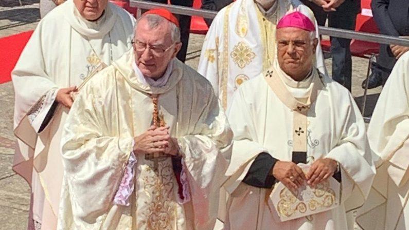Il segretario di Stato Vaticano Parolin in Calabria: «Purificare religione dalla mafia» - FOTO
