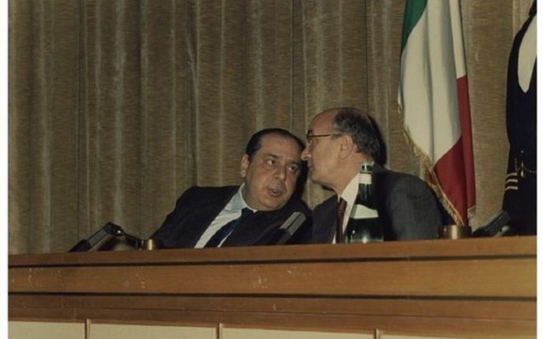 Riccardo Misasi insieme a Ciriaco De Mita