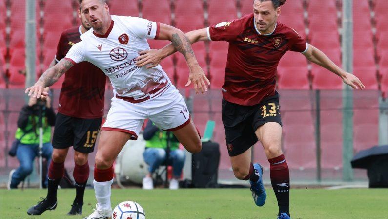 Calcio, Serie B: subito prodezza di Menez ma alla Reggina non basta e con la Salernitana è 1-1