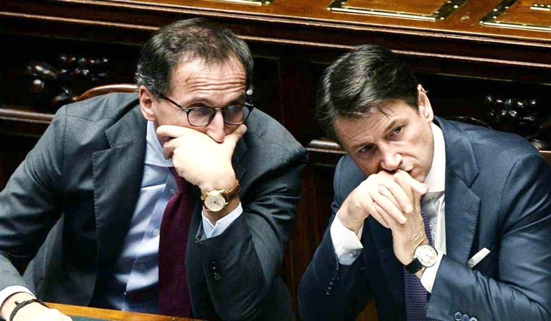 Francesco Boccia e Giuseppe Conte