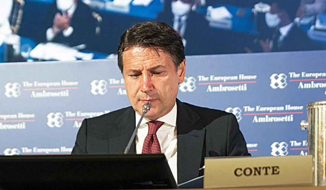 Giuseppe Conte a Cernobbio
