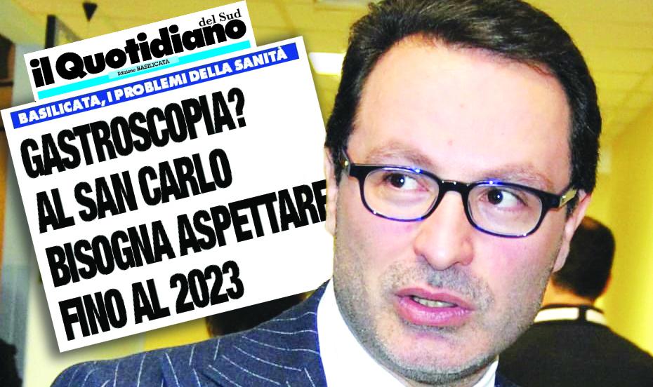 Giuseppe Spera, commissario del San Carlo di Potenza