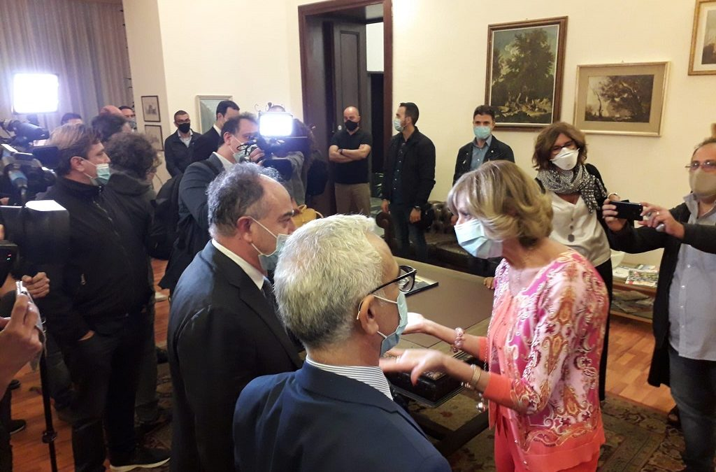 Il procuratore Nicola Gratteri in Prefettura per l'audizione