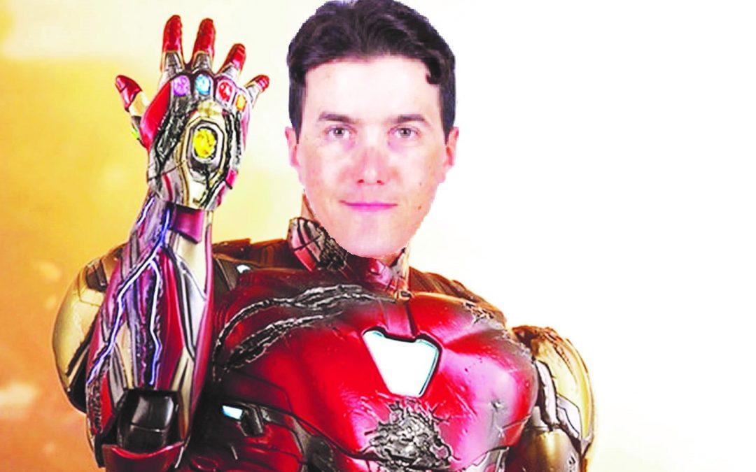 """Domenico Pozzovivo si """"trasforma"""" in Ironman, vista la  tenacia, la voglia di ricominciare e visto anche il metallo che ha in corpo"""