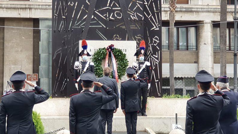 Commemorazione del 77° anniversario della morte del Vice Brigadiere dei Carabinieri Salvo D'Acquisto