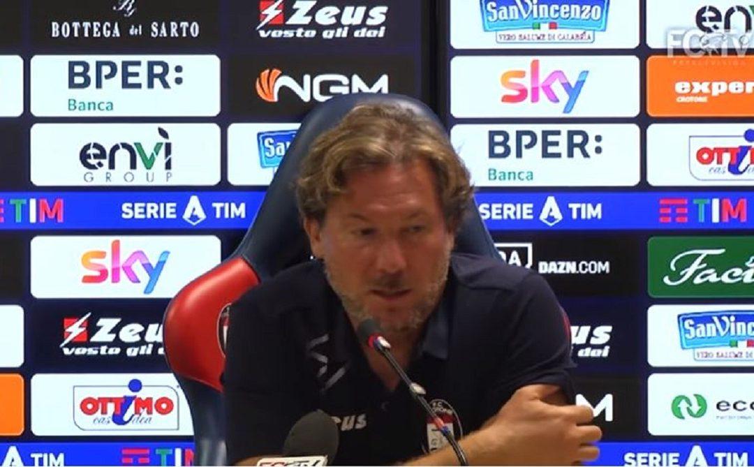 Giovanni Stroppa durante la conferenza stampa