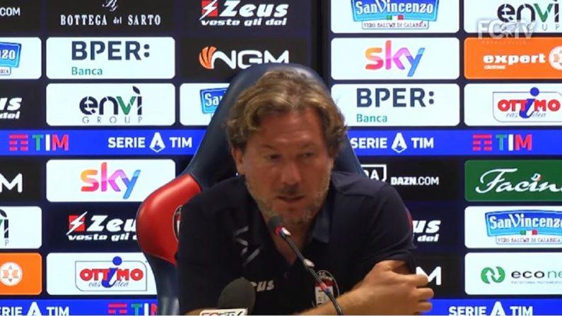 Riparte la Serie A, Stroppa: «Crotone in ritardo ma col Genoa daremo il massimo»