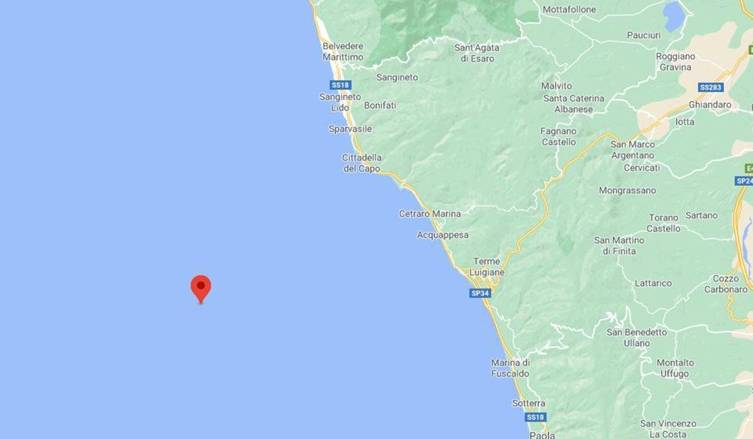 L'area colpita dal sisma