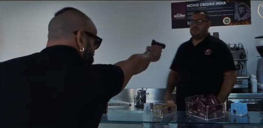 Un'immagine tratta da video di Cionek