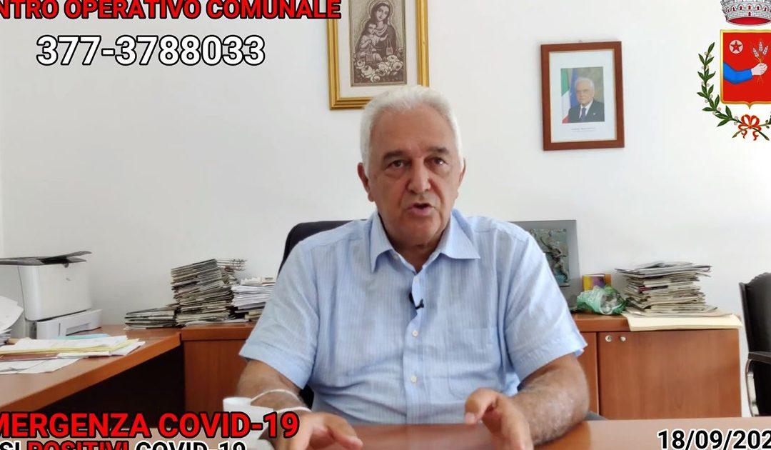 Il sindaco Vincenzo Serrao