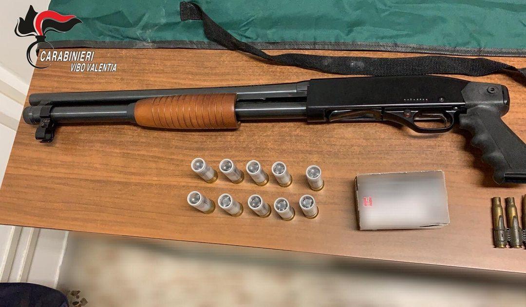 Una delle armi sequestrate