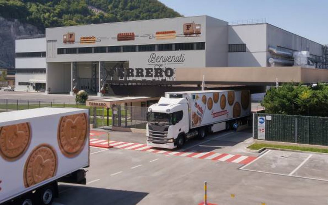 Lo stabilimento della Ferrero a Balvano (alle porte di Potenza): qui vengono prodotti i NutellaBiscuits