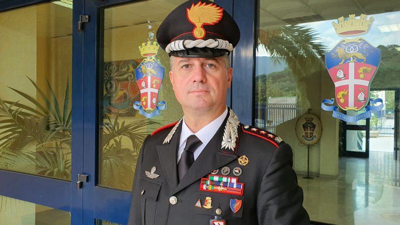 Il colonnello Luigi Bramati, nuovo comandante Provinciale dei Carabinieri di  Avellino