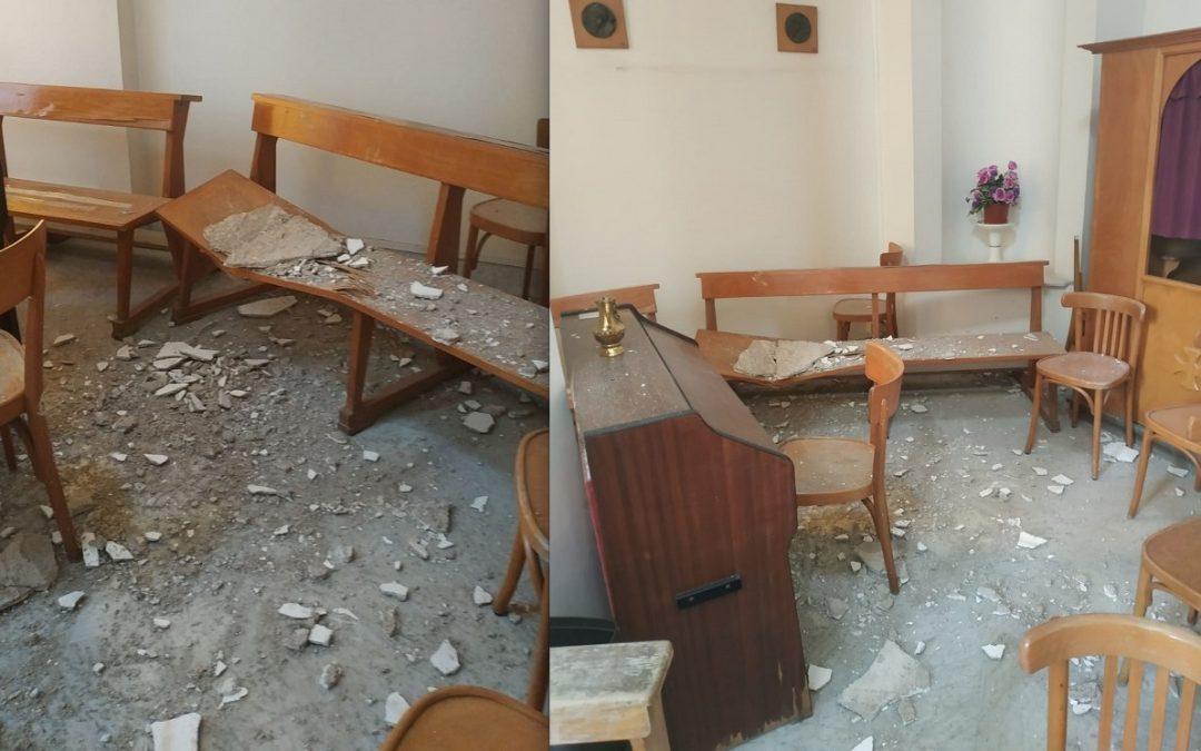 """Cimitero di Cava de' Tirreni, Enrico Bastolla """"sollecita"""" i lavori di riparazione della chiesa"""