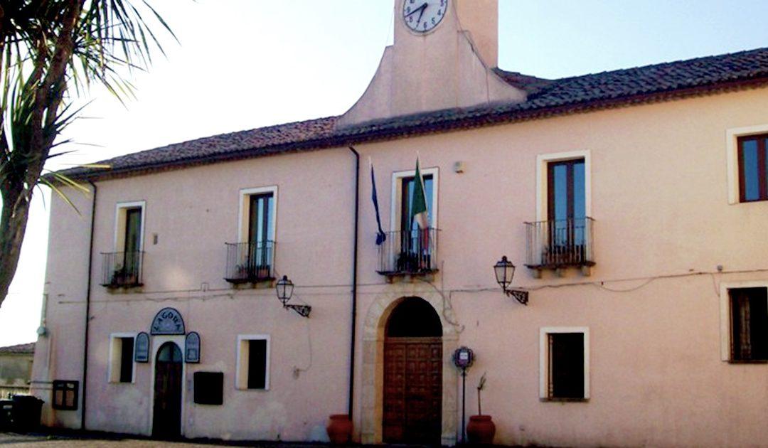 Il municipio di Mongrassano