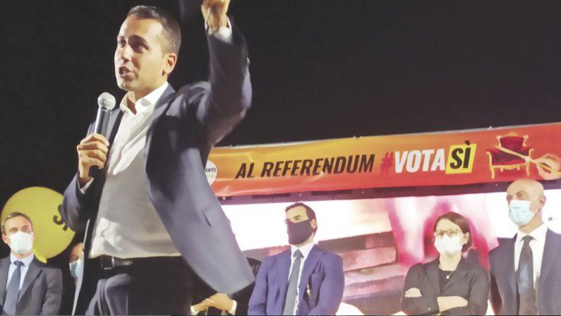 """Regionali, Di Maio: """"Scegliamo bene a chi affidare i 209 mld  dell'Ue"""""""