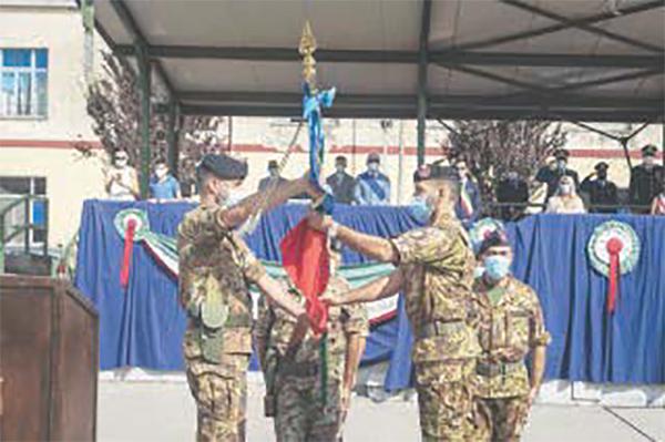 Zulini cede il comando al colonnello Bruno ad Avellino