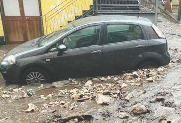 Paura ed evacuazioni a Sarno