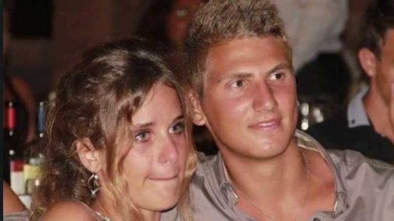 Marco Vannini con Federica Ciontoli