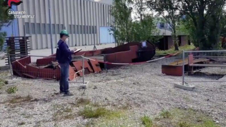 Traffico illecito di rifiuti: 8 misure cautelari eseguite dai carabinieri del Noe di Caserta