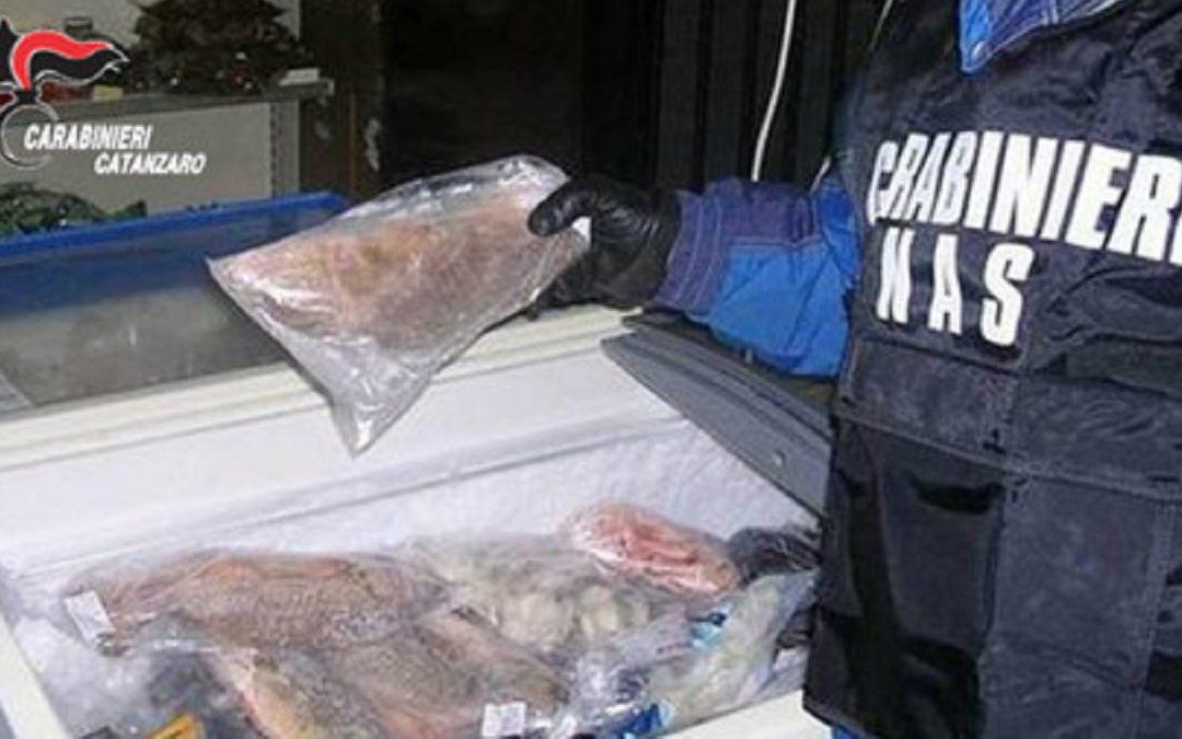 Alcuni prodotti sequestrati dai carabinieri