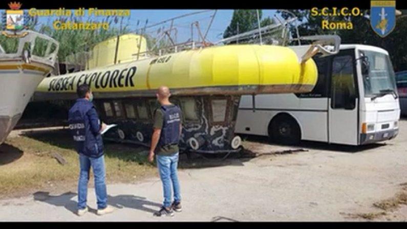 Dal villaggio di lusso al sommergibile: 55 milioni di euro di beni sequestrati alla 'ndrangheta nel Vibonese - VIDEO