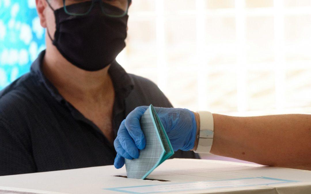 Operazioni di voto al tempo del coronavirus