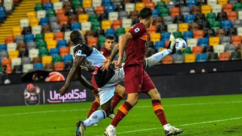 Serie A, Udinese-Roma 0-1, decide la prima rete italiana di Pedro