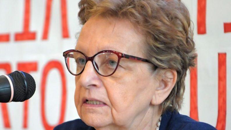 È morta la presidente dell'Anpi Carla Nespolo