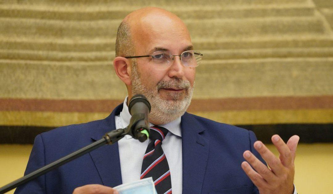 Vito Crimi, capo politico facente funzioni del M5S