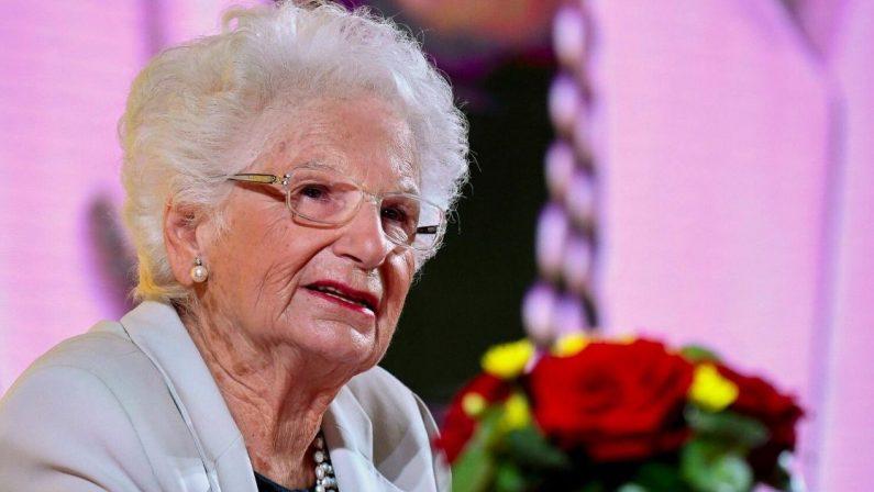 Liliana Segre diventa cittadina onoraria di Reggio Calabria