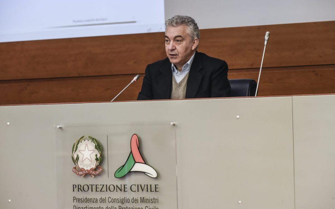Il Commissario Straordinario all'Emergenza Domenico Arcuri