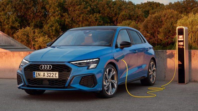 Al via prevendita di nuova Audi A3 Sportback plug-in hybrid