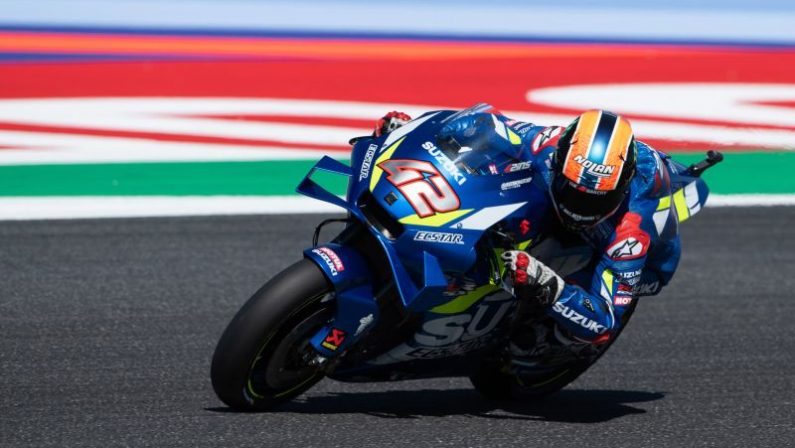 Al GP di Aragon vince Rins davanti a Marquez, Mir nuovo leader
