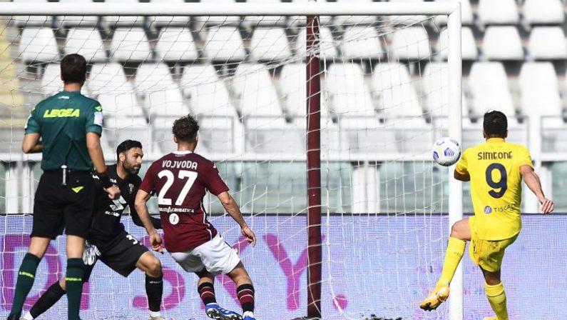 Serie A, Belotti non basta al Torino, Simeone e Joao Pedro lanciano il Cagliari