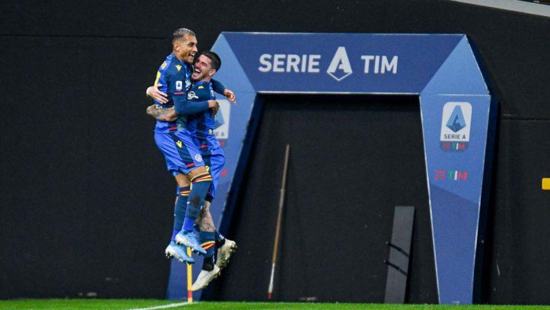 Serie A, primi tre punti per l'Udinese, che batte 3-2 il Parma