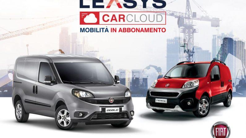 Leasys CarCloud Pro, primo abbonamento veicoli commerciali