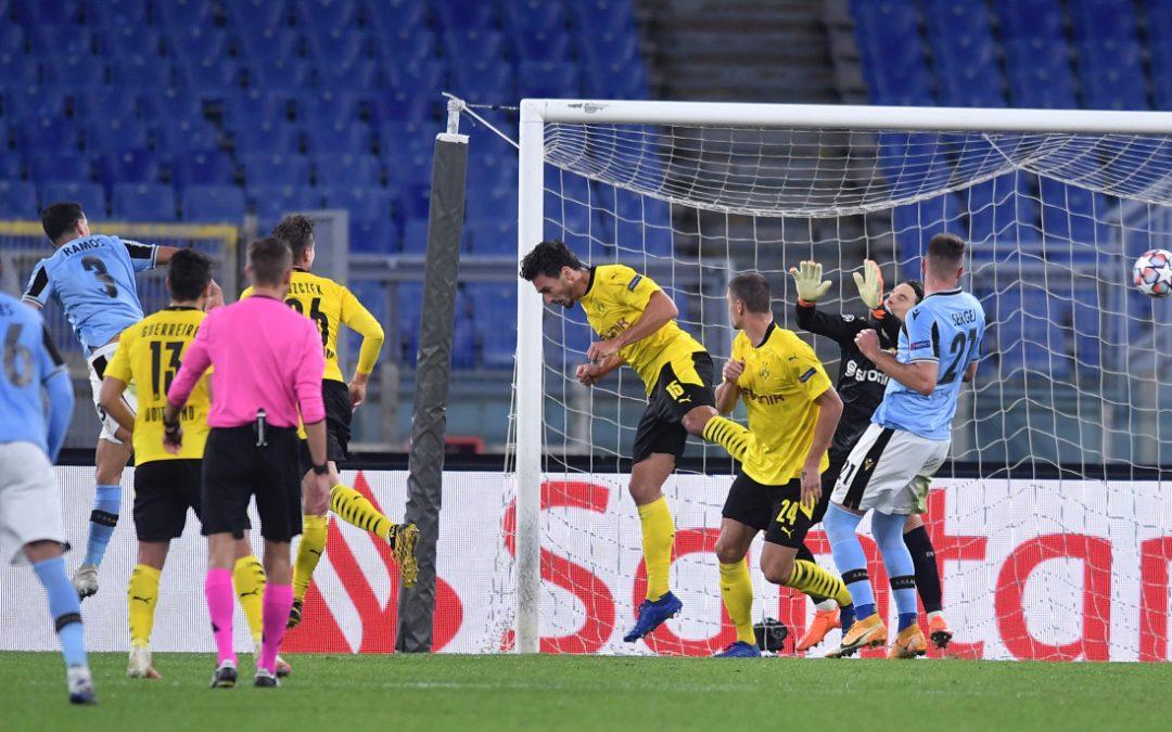 La Lazio inizia la Champions vincendo, 3-1 al Borussia Dortmund