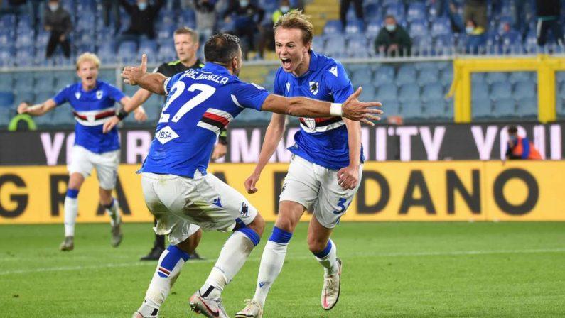 Serie A, colpo Sampdoria a Bergamo, Atalanta sconfitta 3-1