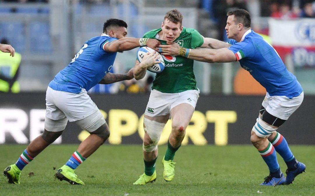 Sei Nazioni, Irlanda batte Italia 50-17