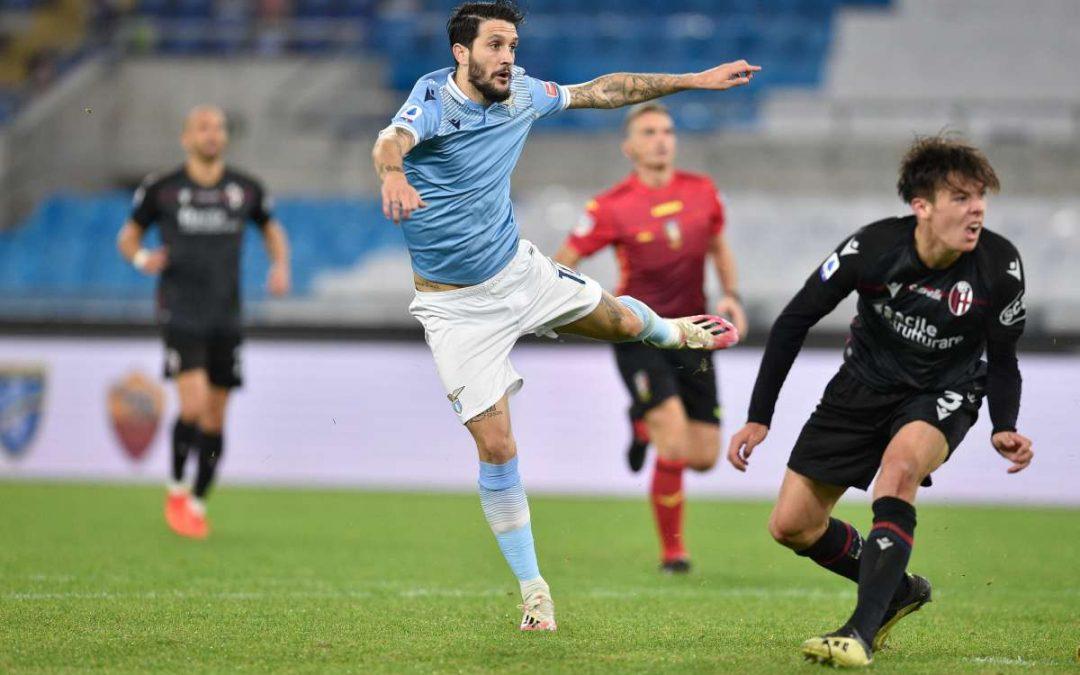 La Lazio torna a vincere in campionato, Bologna battuto 2-1
