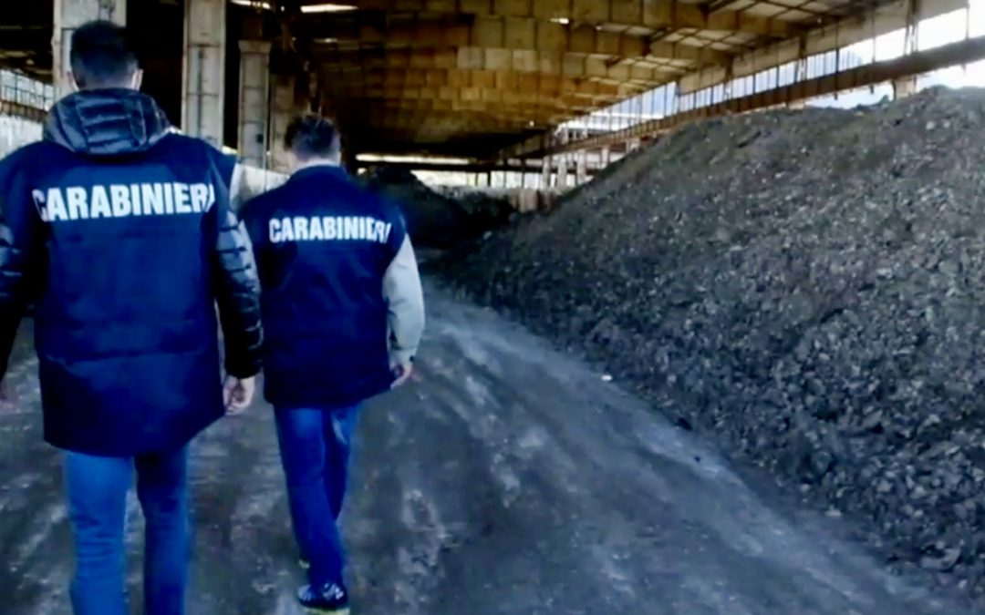 Napoli: controlli dei carabinieri forestali nell'area ex Italsider,  2 persone denunciate e mille metri quadri sequestrati