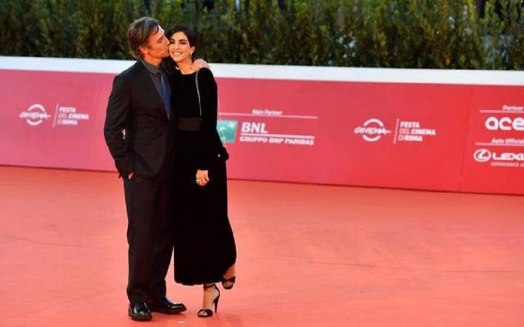 Raoul Bova e Rocìo Munoz Morales sul red carpet del Festival di Roma