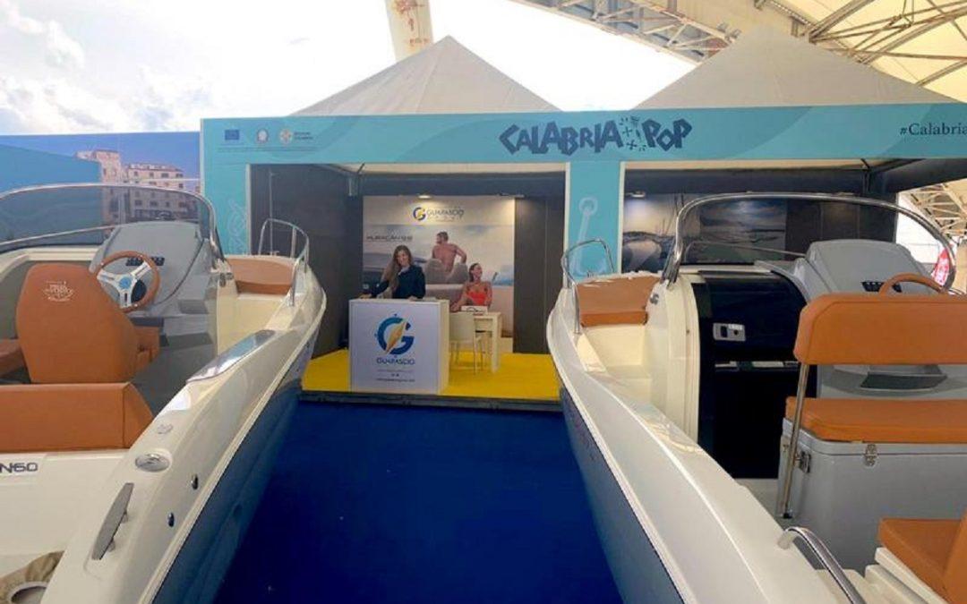 Lo stand della Regione Calabria al Salone nautico