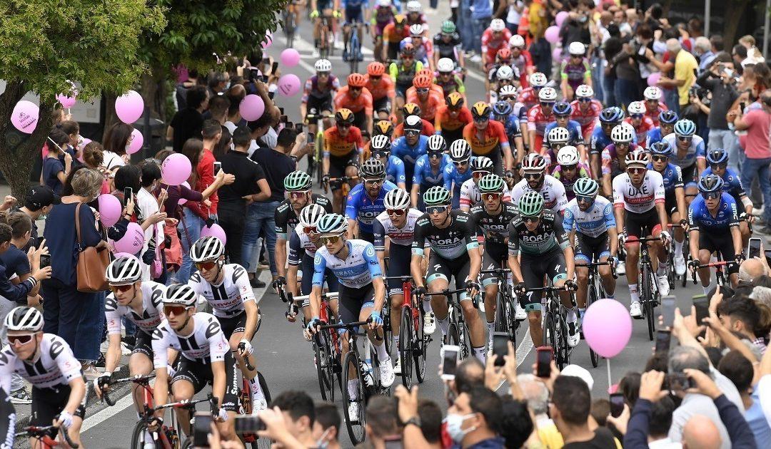 Il gruppo del Giro d'Italia