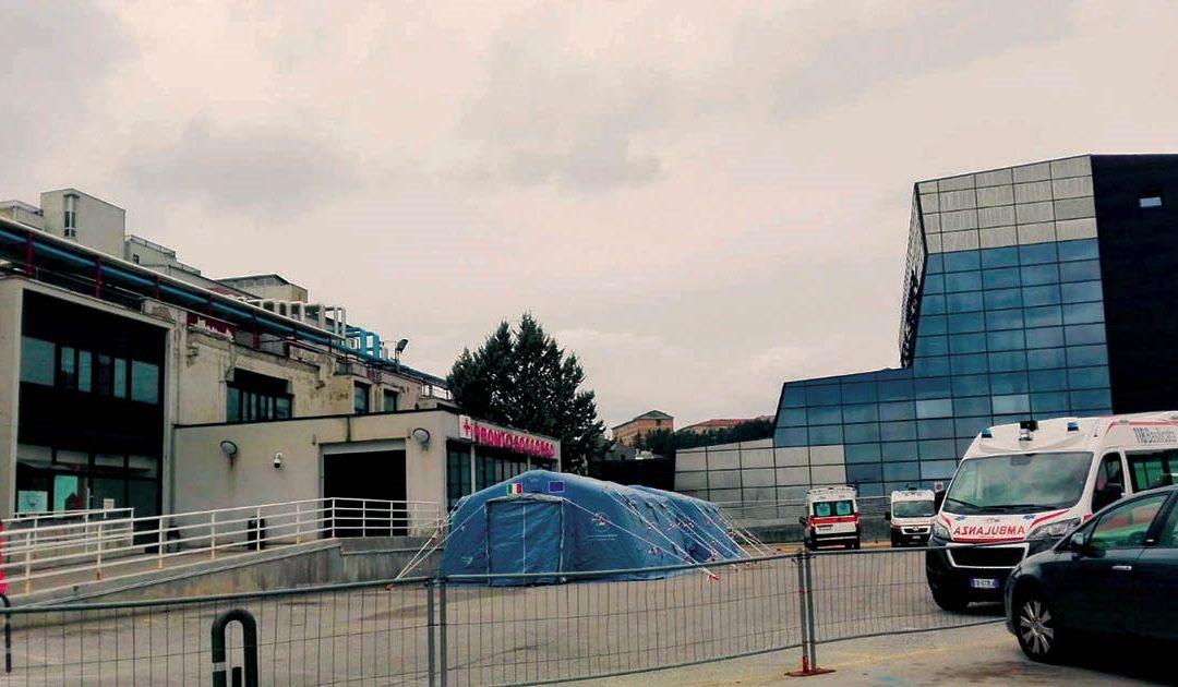 Il pronto soccorso dell'ospedale San Carlo di Potenza
