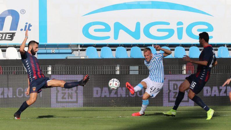 Calcio, serie B: il Cosenza non si arrende e contro la Spal pareggia nel finale